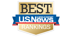 Gold US News Best Ranking Badge
