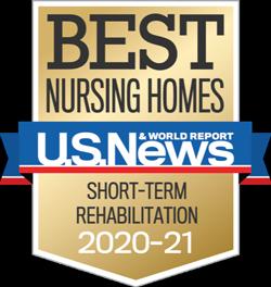 Best Nursing Homes US News 2020-2021 badge